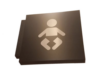 PUBLIC AREA SIGN BABY CHANGER