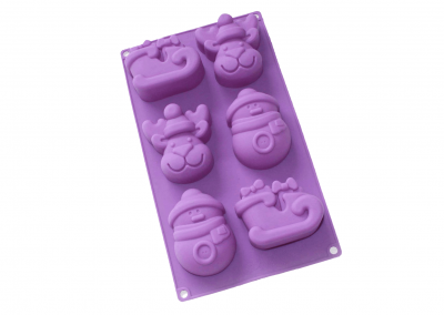 Silicon Mold for X-MAs Pastry