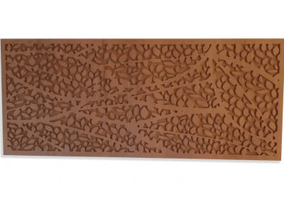 2D Wood Decorative Panel